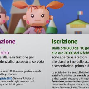 Informazioni per ISCRIZIONI ONLINE alunni delle future classi prime a.s. 2018/2019