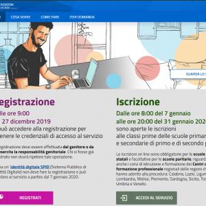 Informazioni per ISCRIZIONI ONLINE alunni delle future classi PRIME a.s. 2020/2021